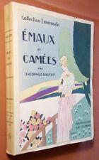 GAUTIER Théophile - JOUMARD Germaine Paule (Aquarelles de). Emaux et camées.