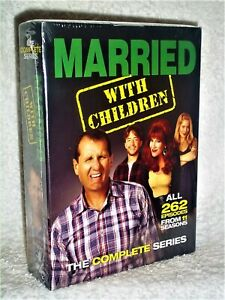 Married with Children: The Complete Series (DVD, 2015, 21-Disc) NEW Ed ONeill