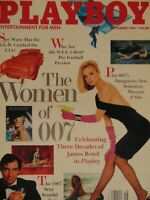 Playboy September 1987 | Bond Girls Gwen Hajek   #989 #2459 #2460