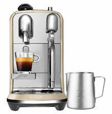 Nespresso Breville Creatista Royal Champagne Coffee Maker - Cream