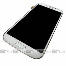 Samsung Galaxy S4 i9506 LCD Digitizer Touch Screen Frame White Replacement