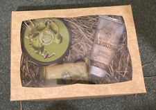 The Body Shop Olive Body Butter & Soap Almond Hand Nail Cream Gift Set