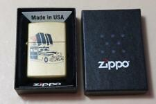 Boxed mint and unused Zippo Planeta A windproof lighter : Zippo car