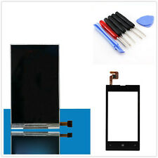 New Front Touch Screen Glass Digitizer + LCD Display For Nokia Lumia 520 Tools