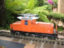 LGB G-Scale #20440 Orange RhB Ge 2/4 Switching Locomotive Used