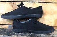 Seavees Hermosa Plimsoll Standard Sneaker All Black 440 Pantone Men's Size 11