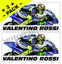 Valentino Rossi ★ 2 PACK ★ Decals Stickers VR 46 MotoGP AGV T-Shirt Helmet R1