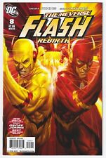 THE FLASH #8 | Vol. 3 | Reverse Flash | Artgerm 1:10 Variant | RARE | 2011 | VF+
