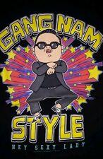 LARGE Psy Gangnam Style t-shirt: Hey Sexy Lady punk rock funny