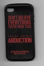 ABDUCTION ~ cellphone cover 2011 movie memorabilia Taylor Lautner & Alfred Molin