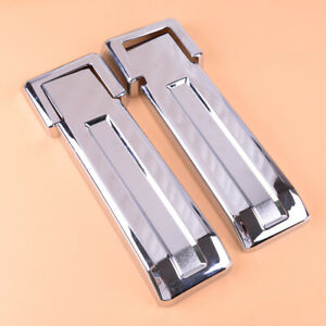 Chrome Spare Tire Tailgate Carrier Hinge Trim fit for Jeep Wrangler JK 2007-2017
