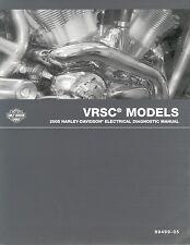 2005 Harley VRSC VRSCA VRSCB V-ROD VROD Electrical Diagnostic Manual NEW 499-05