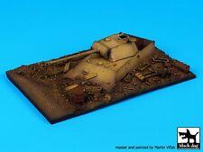 Black Dog 1/72 Destroyed Panther Tank Section Diorama Base (145mm x 90mm) D72019
