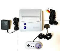 Rare Original SNES Super Nintendo Mini Console OEM System Bundle CLEAN!!