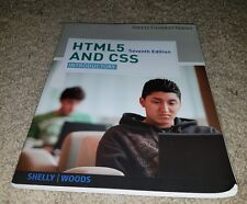 HTML5 and CSS: Introductory by Woods, Denise M. 7th seventh edition Cashman
