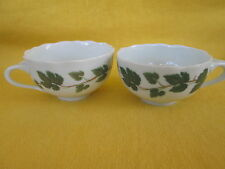 "Hutschenreuther Weinlaub SET OF TWO - WIDE COFFEE CUPS  ""have more items to set"""