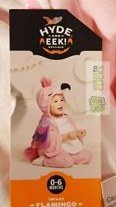 Halloween Costume Dress-up Hyde & Eek Baby Plush Flamingo Costume 0-6M