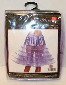 New Leg Avenue brand Lavender Knee Length Petticoat Style 83043 OSFM 90-160 lbs