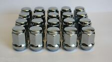 20 X M12 X 1.5 ALLOY WHEEL NUTS FIT JAGUAR X TYPE