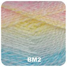James C Brett Baby Marble DK Yarn 5 X 100g - Shade Bm2 -