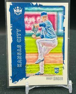2021 Diamond Kings Brady Singer RC Base Kansas City Royals