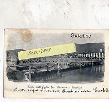 C002345   BERGAMO  SARNICO  PONTE SULL'OGLIO TRA  SARNICO  E  PARATICO  VG 1906