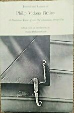 ANCIEN-REGIME, Journal et Lettres de Philip VICKERS FITHIAN (1773-1774) - 7405