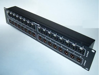 Mamba 32XDB - 16 XLR/TRS Combo & 16 XLR Male to 4 DB25 Tascam Analog Patch Bay