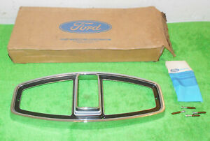 1968 Ford Country Sedan Squire Ranch Wagon NOS REAR TAIL LIGHT LAMP DOOR BEZEL