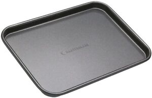 "MasterClass Professional Non Stick Small 9"" x 7"" / 24cm x 18cm Baking Sheet Tray"