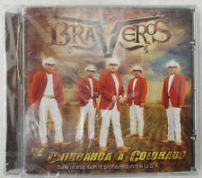 """LOS BRAVEROS """"DE CHIHUAHUA A COLORADO"""" CD - NEW WITH CRACKED CASE"""