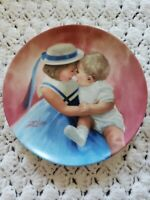 "Vintage 1988 Pemberton & Oakes ""Mother's Angels"" Collector Plate by Donald Zolan"