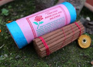 Rose Tibetan Incense Sticks