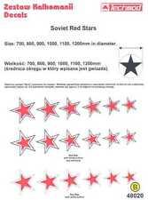 Techmod Decals 1/48 SOVIET RUSSIAN RED STARS WWII Part 1