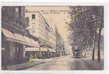 CPA 92200 NEUILLY SUR SEINE Avenue de Neuilly avec tramway animé Edit E.M.