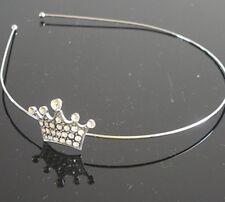 CROWN Swarovski Crystal Hair Headband ACCESSORY Tiara Bridal Wedding HB131