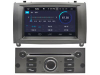 For Peugeot 407 2004-2010 Android 9.0 Car DVD GPS Navigation Wifi Radio  Stereo