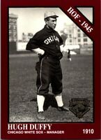 1994 TSN Conlon Burgundy Baseball Card #1014 Hugh Duffy