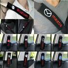 Fashion Universal Cotton Seat belt Shoulder Pads cover emblems for All car model
