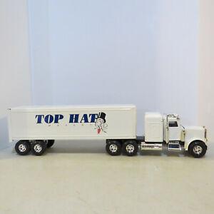 "Ertl Peterbilt Semi ""Top Hat Movers"" USA made 1/24 DW-3168-9455-EW"