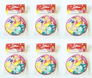 6 x Disney Princess 10 pack Christmas Gift tags 60 tags in total Presents