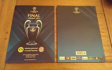 BAYERN MUNICH v BORUSSIA DORTMUND 2013 UEFA CHAMPIONS LEAGUE FINAL PROGRAMME