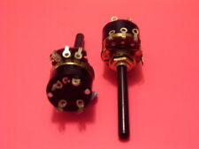New 4.7K ohm Logarithmic Switched Potentiometer x 2