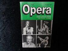 Opera Magazine - Autumn 1987