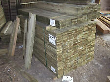 Pack 10 x 2.4m x 125mm featheredge boards closeboard garden fencing