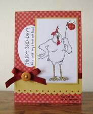 HAPPY BIRD-DAY(words U get photo #2) L@@K@examples ART IMPRESSIONS RUBBER STAMPS