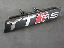 TT RS Grill Badge S Line TT Quattro Audi Black Sport