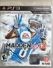 EA Sports Madden NFL 13'