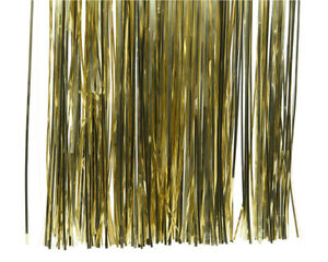 Lametta 40x50cm Weihnachtsbaum Christbaumschmuck Weihnachtsgirlande gold