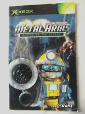 56615 Instruction Booklet - Metal Arms Glitch In The System - Microsoft Xbox (20